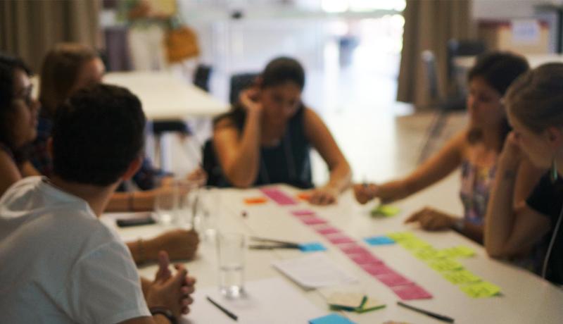 Time do DLAA durante o processo de ideação no workshop design thinking