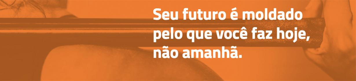 Seu futuro é moldado pelo que você faz hoje, não amanhã