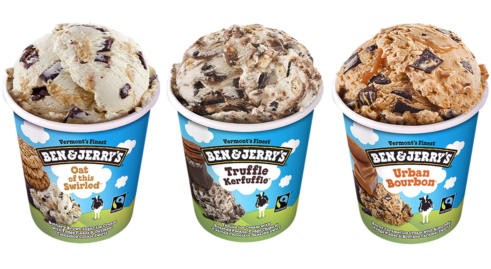ben and Jerry's sistema de identidade visual
