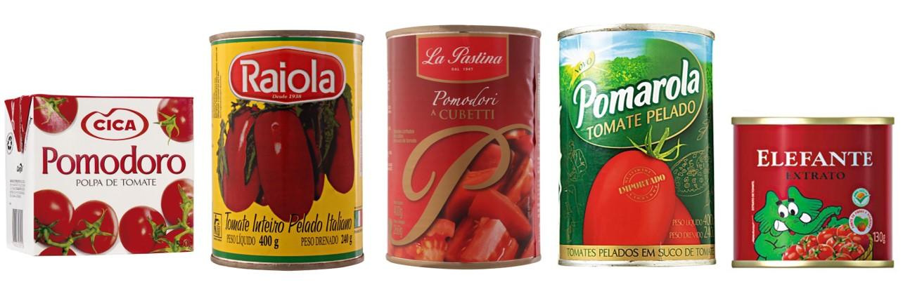 Tipos de molho de tomate que você encontra no supermercado